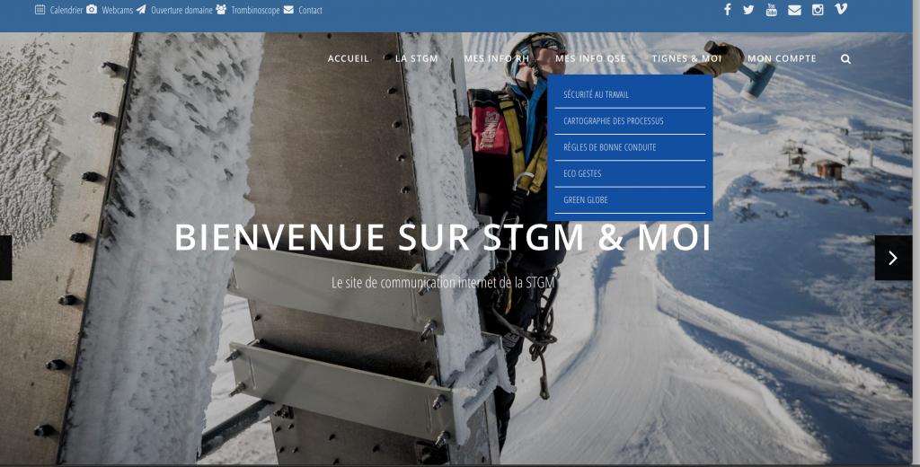 Site STGM, Tignes