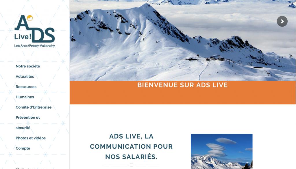 Site ADS, les Arcs