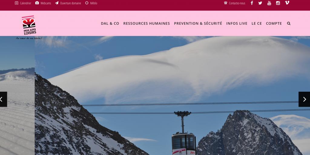 Site Deux Alpes