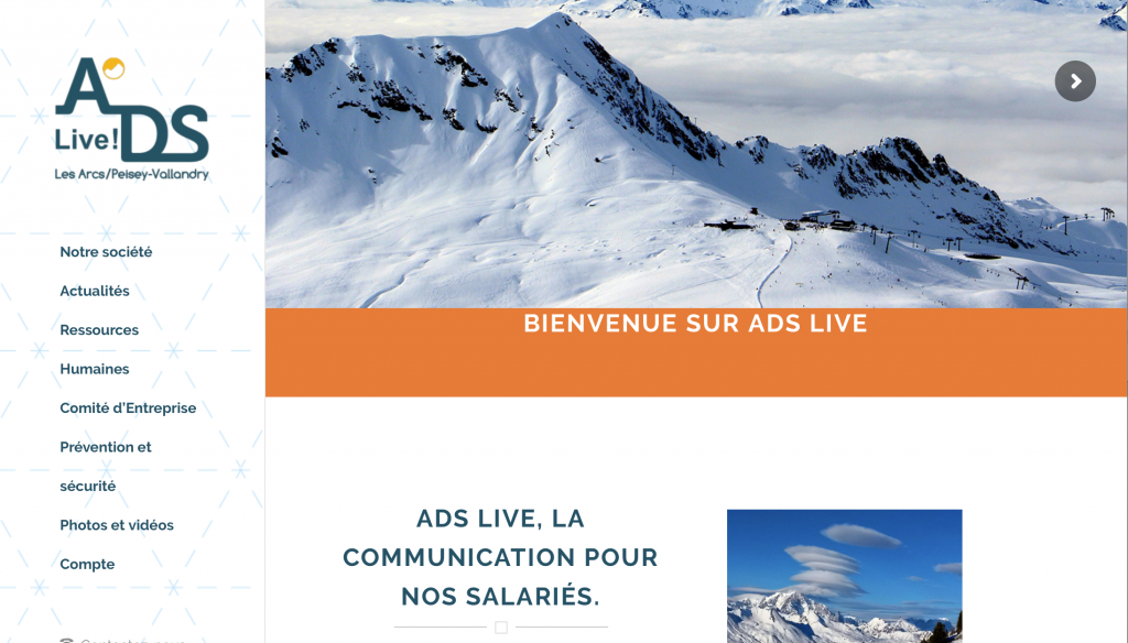 ADS, Les Arcs