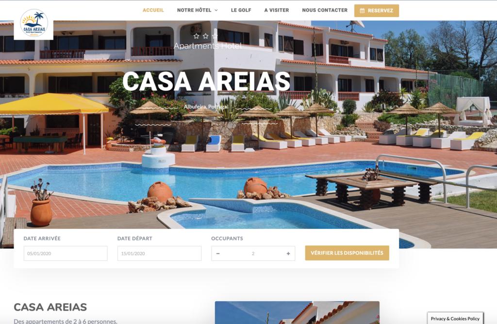Hôtel Casa Areias